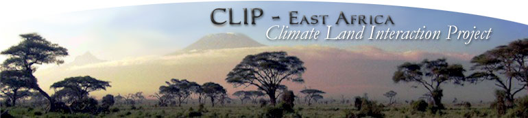Climate Land Interaction Project (CLIP) - East Africa
